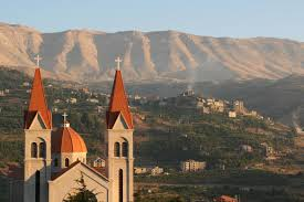 Bcharre, Christian town in the Mountains of Lebanon