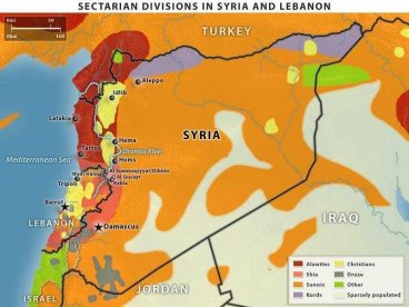 Ethno Map Syria