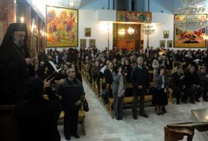 Greek mass in Damascus