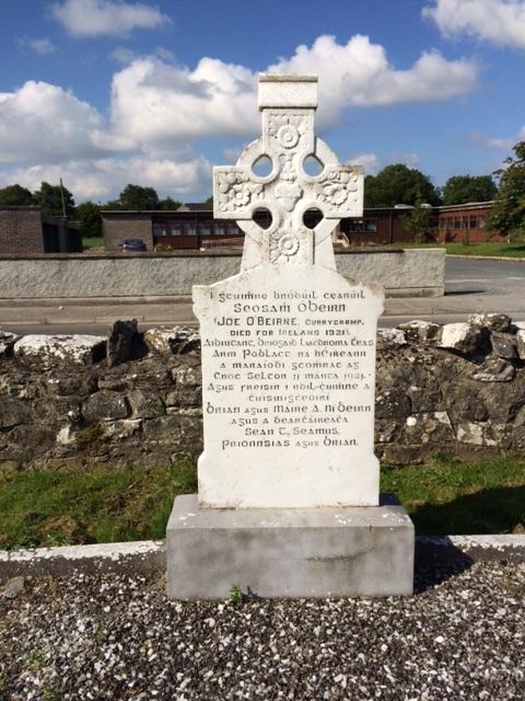 Grave of IRA Volunteer Joseph O'Beirne, Mohill Graveyard