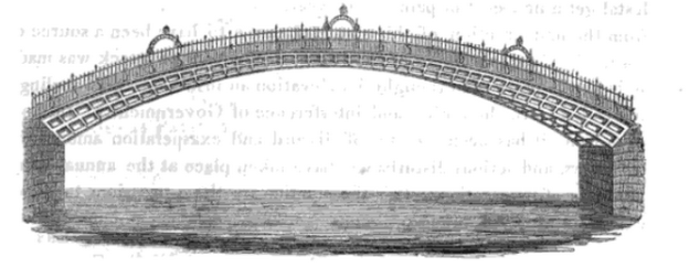 ha'penny bridge 1816