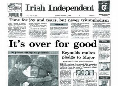 IRA Ceasfire